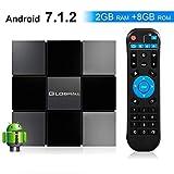 Globmall ABOX 2018 TV-Box Android 7.1 X3 2 GB RAM 8 GB ROM Quad-Core-CPU Penta-Core GPU HDMI 2.0 4K...