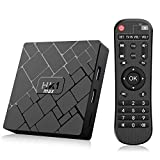 Bqeel Android TV Box 【4GB+64GB】 Android 8.1 TV Box HK1 MAX mit RK3328 Quad-Core 64bit Cortex-A53...