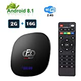 Greatlizard A95X F1 Android TV Box 2GB 16GB Android 8.1 Amlogic Octo-core 2.4GHz WiFi 4K
