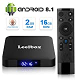 [Android 8.1 TV-Box] Leelbox Smart-TV-Box Q2 MINI Quad Core 2 GB RAM/16 GB ROM/ 4K × 2K UHD H.265/...