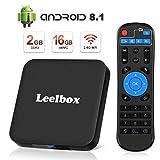 [Android 8.1 TV-Box] Leelbox Smart-TV-Box Q2 MINI Quad Core 2 GB RAM + 16 GB ROM/ 4K * 2K UHD H.265/...
