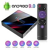 Byttron Android 9.0 TV Box Q Plus Smart Media Box 4GB RAM 32GB ROM RK3318 Quad Core Bluetooth 4.2...