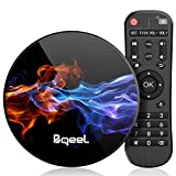 Bqeel Android TV Box R1 MAX【4G+128G】 Android 9.0 TV Box mit RK3318 Quad-Core 64bit Cortex-A53/...