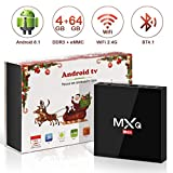 Android 8.1 TV Box 4GB+64GB superpow MXQ MAX Android Box Quad-Core mit BT4.1 3D/ 4k / 2.4Ghz WiFi /...