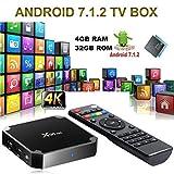 SMART TV Box X96 Mini Android 7.1 4K 4GB RAM 32GB ROM IPTV + Fernbedienung