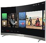 Thomson Curved Fernseher (49UD6596) 124,5 cm (49 Zoll) Smart TV (4K UHD, 4K HDR, Triple Tuner)...
