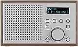 auvisio WLAN-Internetradio mit Holzgehäuse, 2 Weckzeiten und App, 10 Watt