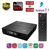 2018 Neueste Android 7.1 Smart TV Box TX92 Wifi 2G + 16G Amlogic S912 Octa Kern 4K HD H.265
