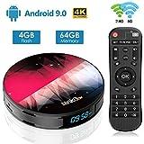 Android TV Box【4G + 64G】, NinkBox Android 9.0 TV Box N2 Plus RK3318 Quad-Core 64bit Cortex-A53,...