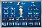 UEFA EURO 2016 Magnettabelle Magnettafel Riesenmagnettabelle der Europameisterschaft in Frankreich