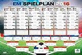 Close Up Heute REDUZIERT - 3,99 Euro -Fußball EM Spielplan 2016 XXL-Poster - Mit jedem Kauf 1 Euro...