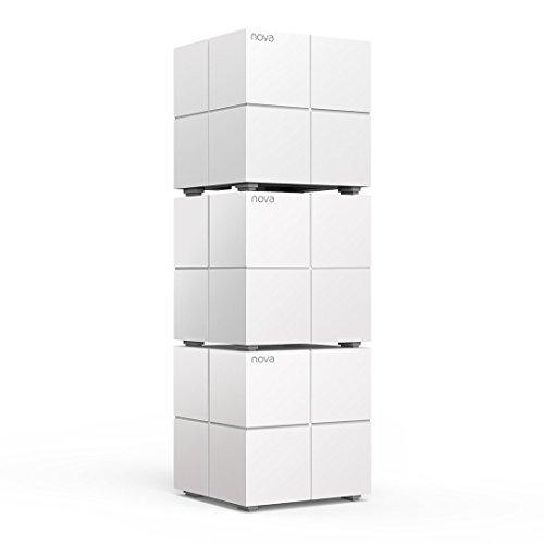 Tenda Nova MW6 3x echtes Dual-Band Mesh WLAN Komplettlösung (Bis zu 500m² WLAN, 3x Stationen, 6x...