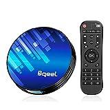 Bqeel Android TV Box Smart TV Box Y8 MAX【4GB+64GB】/Amlogic S905X3 64-bit Quad core/ unterstützt...