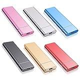 Externe Festplatte 2tb Type C USB 3.1 für PC, Mac, MacBook, Chromebook, Desktop, Laptop (2tb,...
