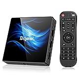 Bqeel Android 10.0 TV Box【4G+64G】 R2 MAX Android TV Box mit RK3318 Quad-Core 64bit Cortex-A53/...