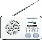TechniSat VIOLA 2 C IR - tragbares Internetradio (DAB+, UKW, WLAN, 2.4 Zoll Farbdisplay,...