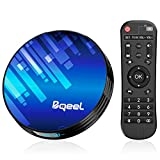 Bqeel Android TV Box Smart TV Box Y8 MAX【4GB+64GB】/ Amlogic S905X3 64-bit Quad core/...