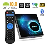 Android 10.0 TV Box, YAGALA T95 Android Box mit Allwinner H616 Quad-Core 64-Bit-ARM Corter-A53-CPU...