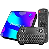 Android 11.0 tv Box, [2G RAM+ 16G ROM] RK 3318 Android TV Box mit Dual 2.4G/5.8G WiFi, BT 5.0...