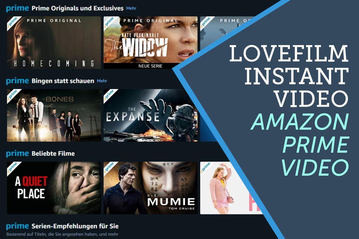 Was ist der Unterschied zwischen Amazon Instant Video, Amazon Prime Instant Video und Lovefilm?