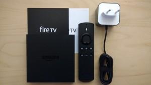 Amazon Fire TV ausgepackt