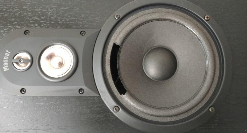 Defekte Gummisicke der Membran meines Lautsprechers