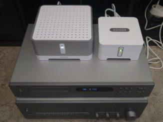 Sonos Connect und Sonos Connect:Amp auf NAD HiFi-Anlage