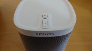 Die Sonos Play:1 Buttons, bzw. Bedienelemente