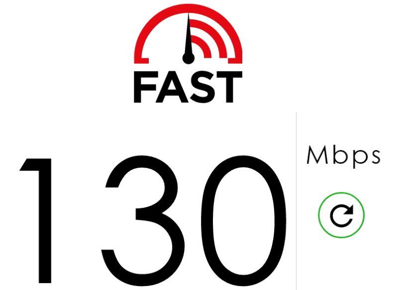Netflix Internet-Geschwindigkeitstest