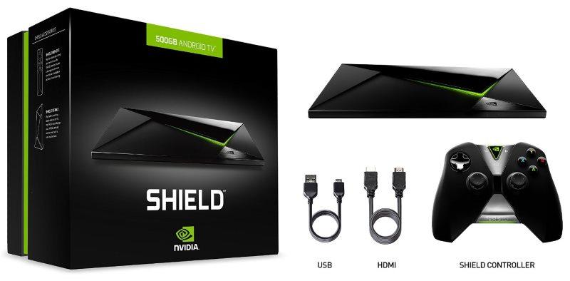 NVIDIA SHIELD 500 GB Android TV Box