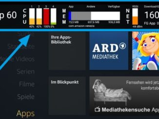 Die Amazon Fire TV System X-Ray Bar in der Übersicht