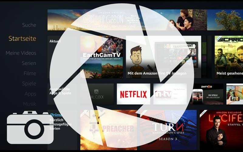 Screenshots vom Amazon Fire TV oder Fire Tv Stick erstellen
