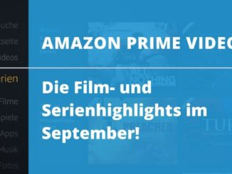 Die Amazon Prime Video Film- und Serienhighlights im September!