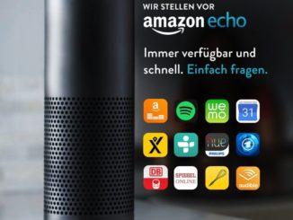 Amazon Echo und Amazon Echo Dot kommen nach Deutschland