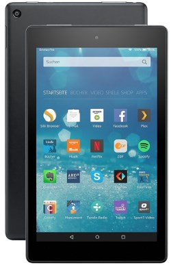 Das neue Amazon Fire HD 8 Tablet
