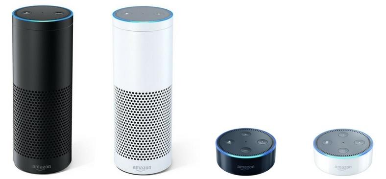 Die Unterschiede zwischen Amazon Echo und Amazon Echo Dot
