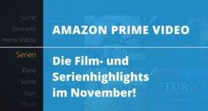 Amazon Prime Video: Die Film- und Serienhighlights im November