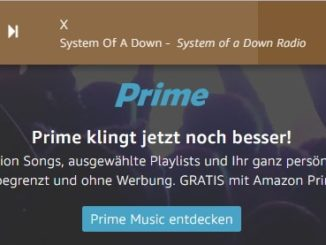 Amazon Prime Music Radio