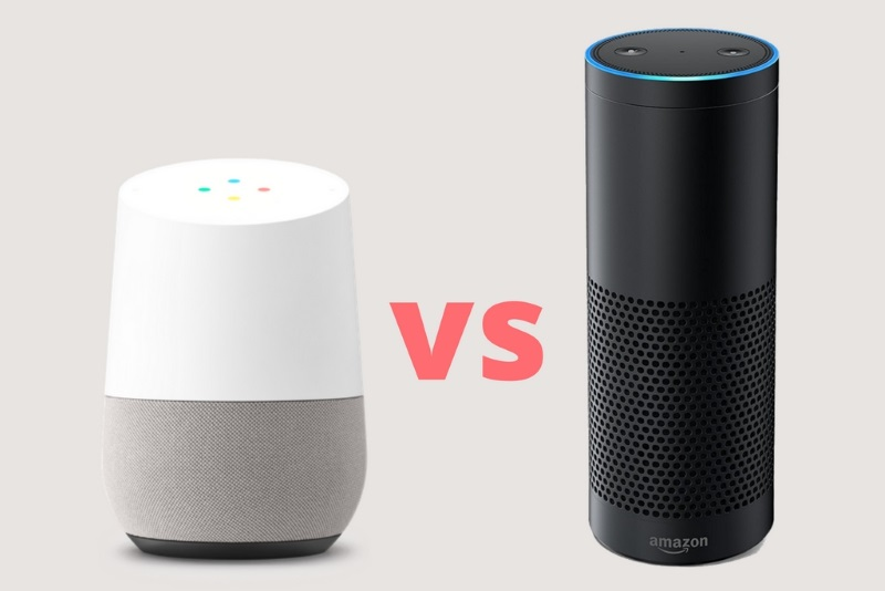 Google Home versus Amazon Echo