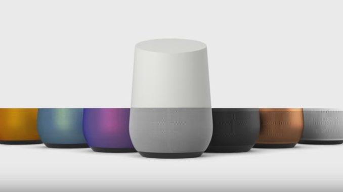 7 verschiedenefarbige Bases für Google Home