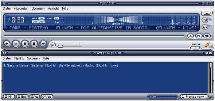 Internetradio mit Winamp am PC hören