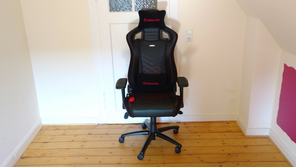 Noblechairs Epic Gaming Stuhl in seiner ganzen Pracht