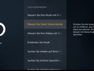Amazon Fire TV Alexa Einstellungen