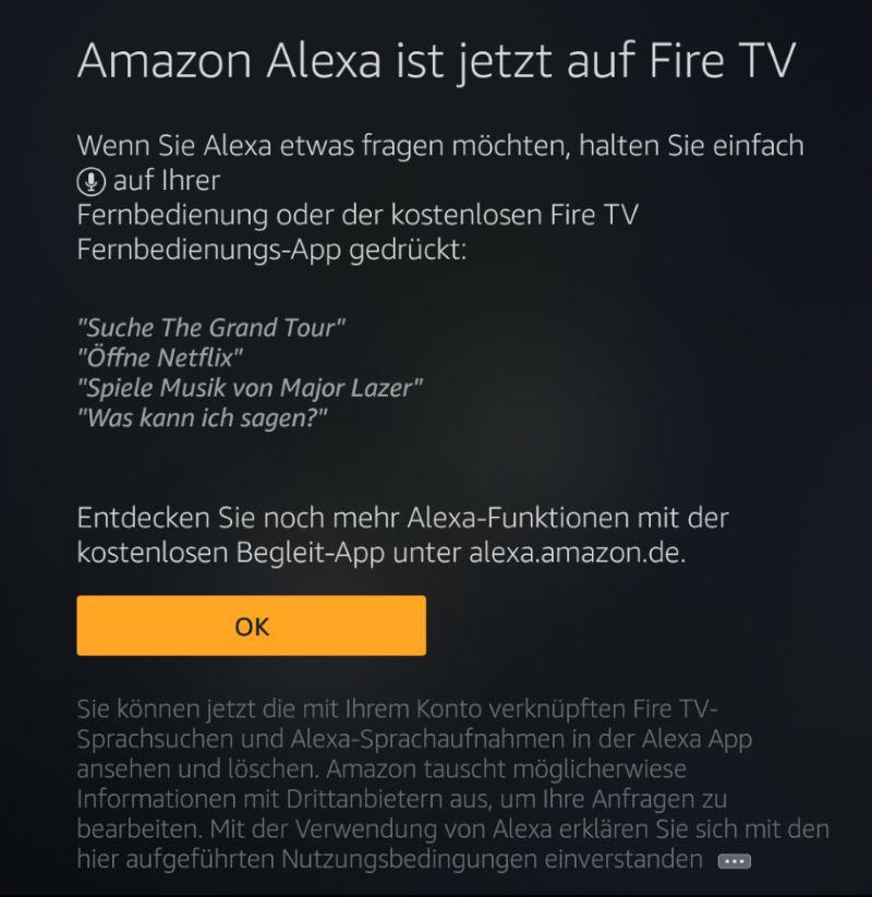 Amazon Alexa ist jetzt auf Fire TV