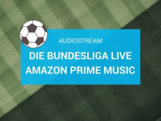 Die Bundesliga Live im Audiostream bei Amazon Prime Music