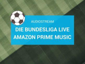 Die Bundesliga Live im Audiostream bei Amazon Prime Music