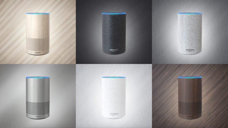 Der neue Amazon Echo in allen Farben und Materialien