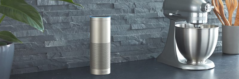 Amazon Echo Plus in Silber