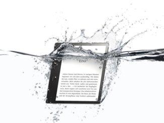 Der neue Amazon Kindle Oasis ist wasserfest