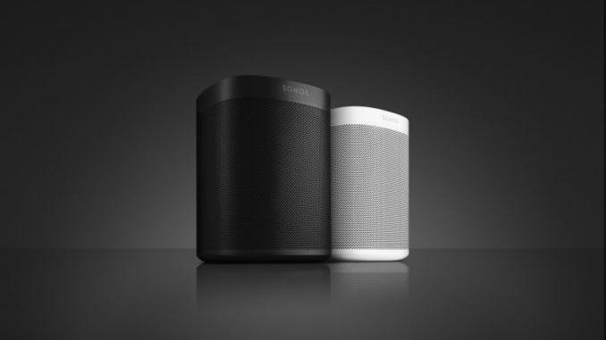Der neue Sonos One in schwarz und weiß
